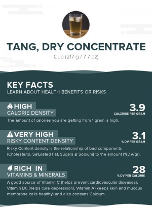 Tang, dry concentrate