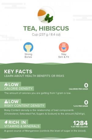 Tea, hibiscus