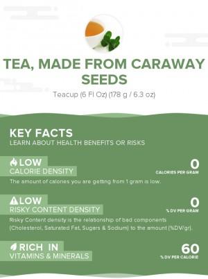 Tea, made from caraway seeds