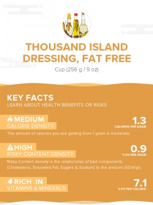 Thousand Island dressing, fat free