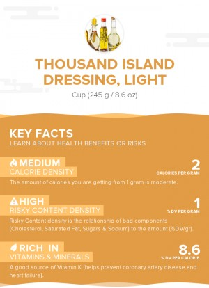 Thousand Island dressing, light
