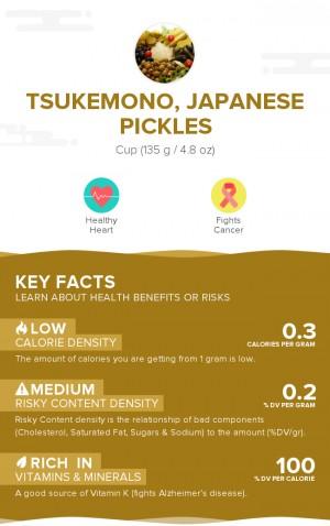 Tsukemono, Japanese pickles