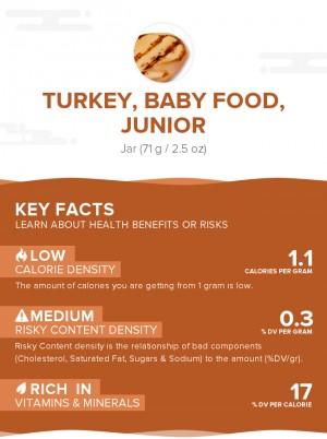 Turkey, baby food, junior