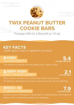 TWIX Peanut Butter Cookie Bars