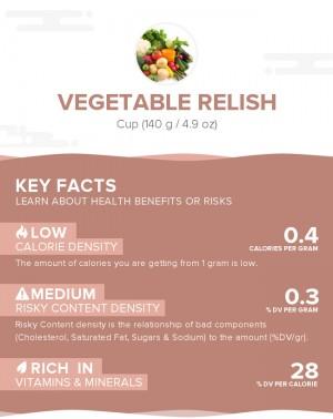 Vegetable relish