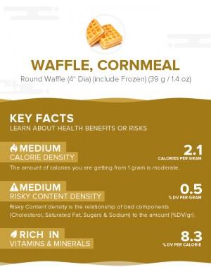 Waffle, cornmeal