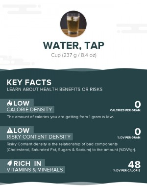 Water, tap