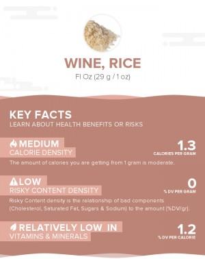 Wine, rice