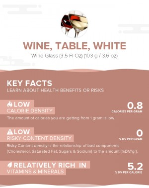 Wine, table, white
