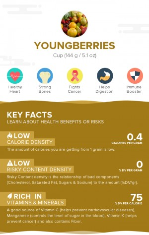 Youngberries, raw