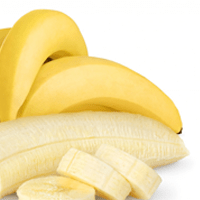 Banana, ripe, boiled
