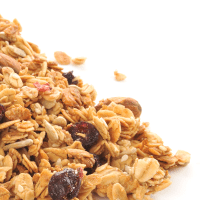 Cereal  Low Fat 100% Natural Granola with Raisins
