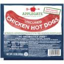 Applegate Farms Uncured Chicken Hot Dogs, 8 count