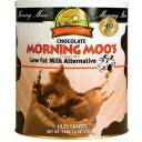 Augason Farms Emergency Food Chocolate Morning Moo's Low Fat Milk Alternative Drink Mix, 71 oz