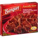 Banquet Barbeque Sauce and Boneless Pork Riblet Shaped Patty, 26 oz