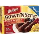 Banquet Brown'n Serve Hot & Spicy Sausage Links, 6.4 oz, 10ct