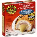 Barber Foods Cordon Bleu Chicken Breasts Filled With Cheeses & Ham, 10 oz