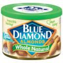 Blue Diamond Whole Natural Almonds, 6 oz
