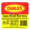 Charlie's Cajun Brand Red Hots Franks, 16 oz