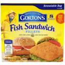 Gorton's Fish Sandwich Fillets, 8 count, 18.3 oz
