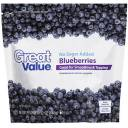 Great Value No Sugar Added Blueberries, 12 oz