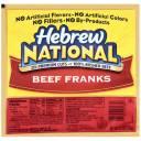 Hebrew National Beef Franks, 12 oz