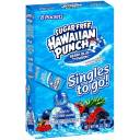 Jel Sert Company: Berry Blue Typhoon Low Calorie Drink Mix Sugar Free Hawaiian Punch Singles To Go, .94 oz