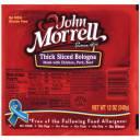 John Morrell Thick Sliced Bologna, 12 oz