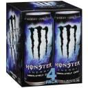 Monster Energy Absolutely Zero Energy Supplement, 4pk