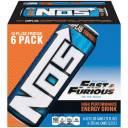 NOS High Performance Energy Drink, 12 fl oz, 6 count