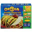 Ortega Hard & Soft Tacos Grande Dinner Kit, 21.3 oz