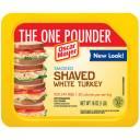 Oscar Mayer 95% Fat Free Shaved Smoked White Turkey, 16 oz