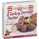Purnell's Old Folks Turkey Sausage Patties, 8 count