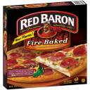 Red Baron Fire Baked Spicy Pepperoni Pizza, 19.47 oz