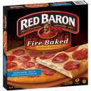 Red Baron Pepperoni Fire Baked Original Crust Pizza, 19.86 oz