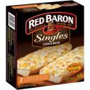 Red Baron Singles French Bread 5 Cheese & Garlic Pizzas, 2 count, 8.80 oz