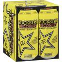 Rockstar Recovery Lemonade Energy Drink, 16 fl oz, 4 count