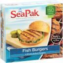 SeaPak Fish Burgers, 4 count, 13.6 oz
