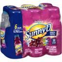 Sunny D Grape Citrus Punch, 6.75 fl oz, 6 pack