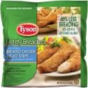 Tyson Lightly Breaded Chicken Breast Strips, 24 oz