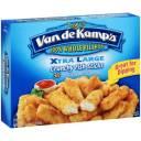 Van de Kamp's Xtra Large Crunchy Fish Sticks, 30 count, 23 oz