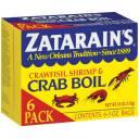 Zatarain's Crawfish, Shrimp & Crab Boil, 3 oz, 6 count